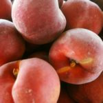 Peaches at Brossman's Farmers Market