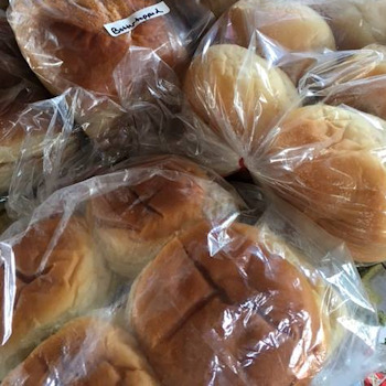 Fresh baked breads and rolls