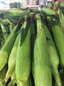 Delicious super sweet corn