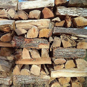 seasoned hardwood sold by Brossman's