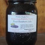 Brossman's Black Raspberry jelly