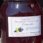 Brossman's Grape jelly